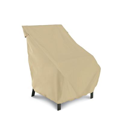 Terrazzo Collection Patio Furniture Covers-High Back Patio Chair Cover