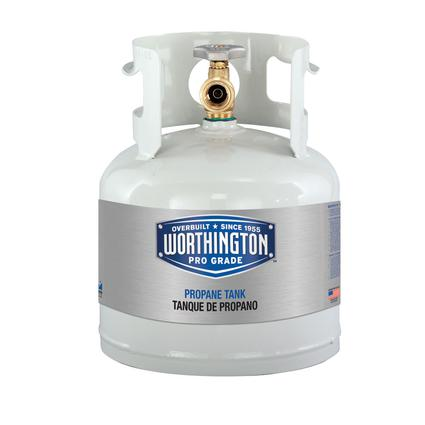 Refillable Steel Propane Cylinders-4.5 lb. / 1 gal.