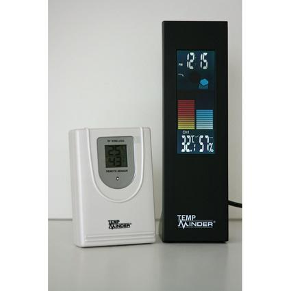 Indoor/Outdoor Color Thermometer