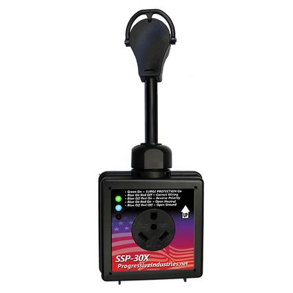 Smart RV Surge Protector, 30-amp
