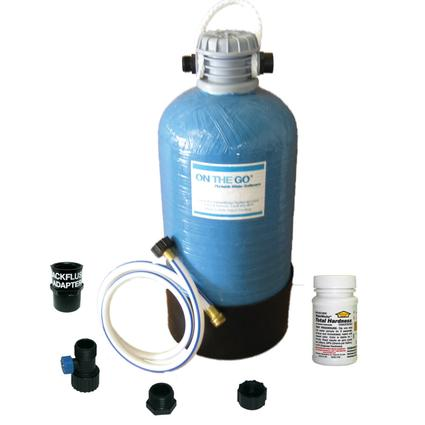 Portable Double Standard Water Softener & Conditioner