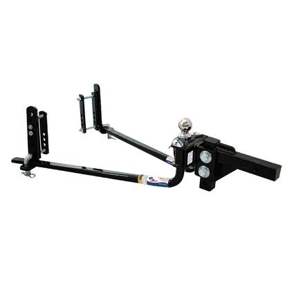 Fastway e2 Round Bar Weight Distribution Hitch with Sway Control Hitch Ball
