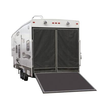 Toy Hauler Screen for Fiberglass or Aluminum Frame