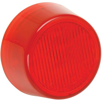 "Waterproof LED 2"" Round Clearance/Side Marker Lights #30 Series- Red"