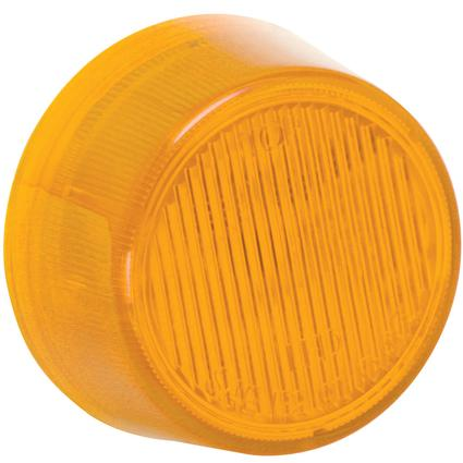 "Waterproof LED 2"" Round Clearance/Side Marker Lights #30 Series- Amber"