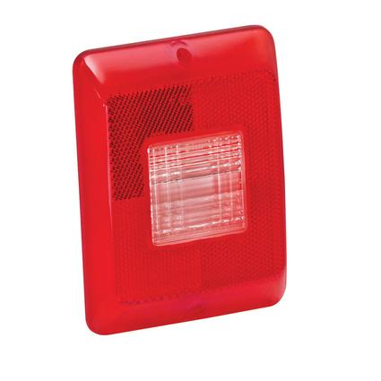 Replacement Backup Lens for #86 Series Tail Lights- Vertical Mounted Backup Lens, Clear