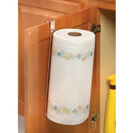 Over Cabinet Paper Towel Holder