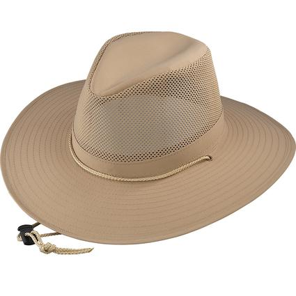 Aussie Crushable Hat- Khaki, Medium
