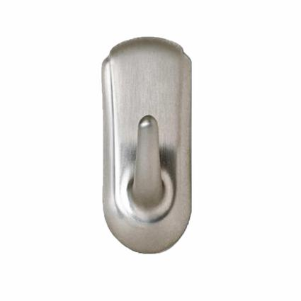 Command Medium Accent Hook - Brushed Nickel