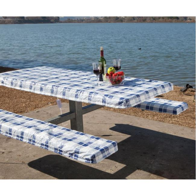 Image Deluxe Picnic Tablecloth U0026 Seat Covers. To Enlarge The Image, Click  Or Press .