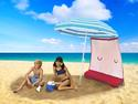 ezShade Umbrella Sun Shield - Red