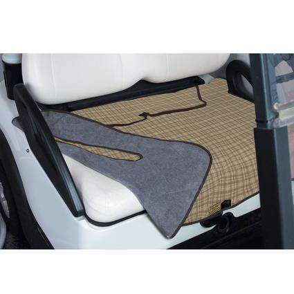 Fairway Plaid Golf Seat Blanket
