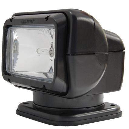 GoLight & Radioray Permanent Mount Model with Wireless Hand-Held Remote – Black