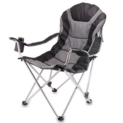 Reclining Camp Chair- Black