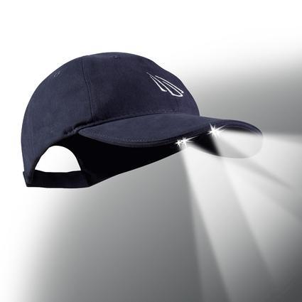 4 LED Baseball Cap -Navy