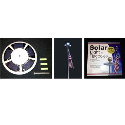 Solar Flag Light