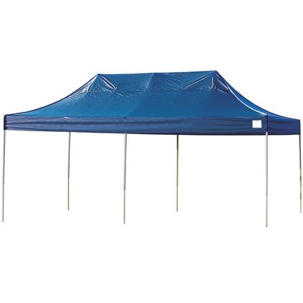 10X20 Pro Series Straight Leg Canopy - Blue