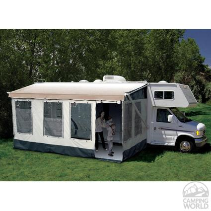 Carefree Buena Vista Room - Fits Traditional Manual and 12-Volt Awnings with Vertical Arms, 14-15 Feet
