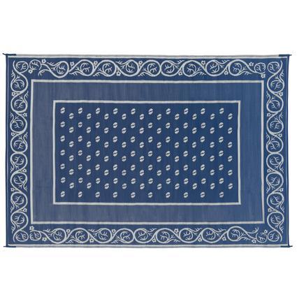 Faulkner Vineyard 9' x 12' Blue Multi-Purpose Mat