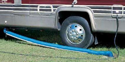 Easy Slider Sewer Hose Support