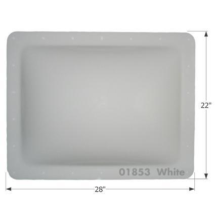RV Skylight - SL1824W - White