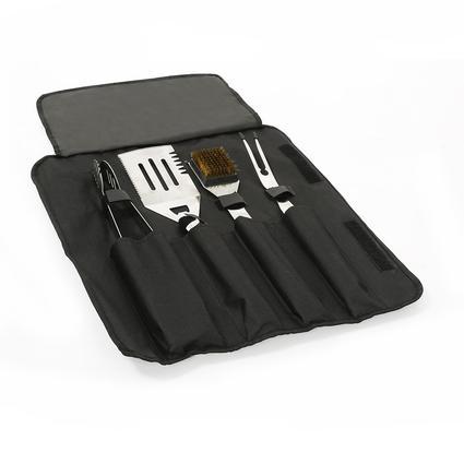 4-Piece BBQ Tool Set