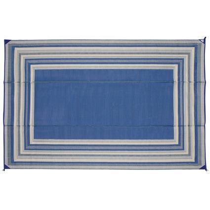Blue Striped Mat, 9 x 12