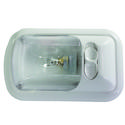 Single 12-volt Dome Light with Optic Lens