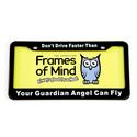License Plate - Don't Drive Faster than Your Guardian Angel Can Fly