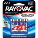 Alkaline AA Battery, 4 Pack
