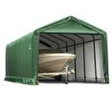 ShelterTUBE Storage Shelter 12 x 30 x 11 Green Cover
