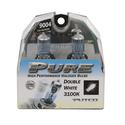 Double White Halogen Head Light Bulb, 9004 - 2 pack