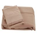 King 300 Thread Count Cotton Sheet Set, Taupe