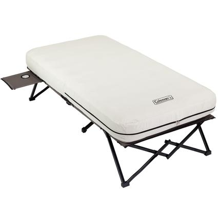 Twin Airbed Cot with Side Table