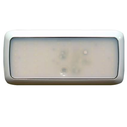"""8.5"""" Rectangle LED Slim Line Touch Light Fixture with 80 SMD Diodes"""