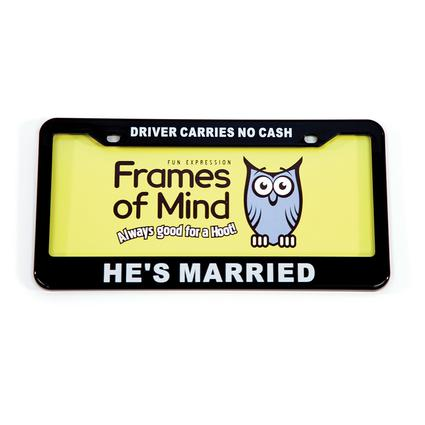License Plate - Driver Carriers No Cash