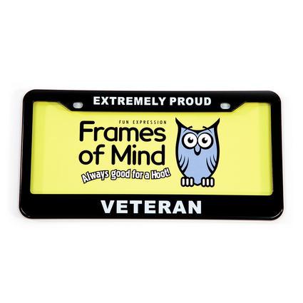 License Plate - Proud Veteran
