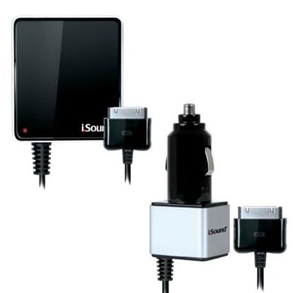 i-Sound Wall and Car Charger Pro