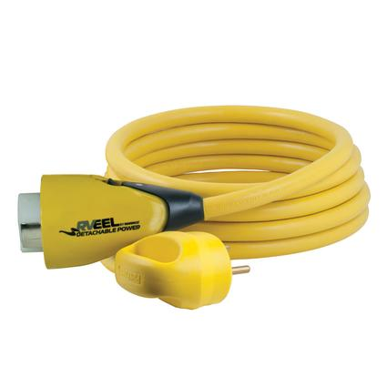 30 Amp to 50 Amp RV EEL Adapter, 25'