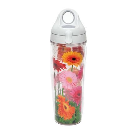 Gerbera Daisies - 24 oz Tervis Tumbler Water Bottle