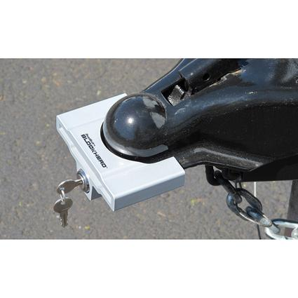 DeadBolt BLOCKHEAD Trailer Coupler Lock