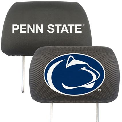 Fanmats Head Rest Covers, Set of 2 - Penn State