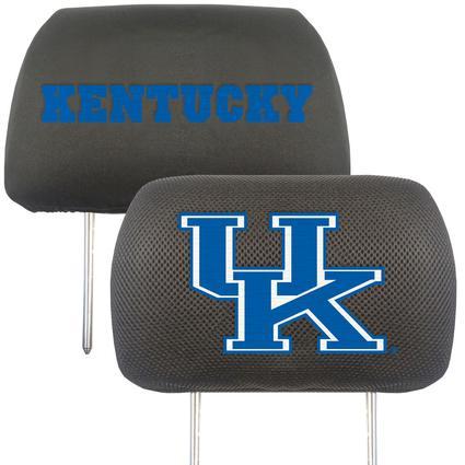 Fanmats Head Rest Covers, Set of 2 - University of Kentucky