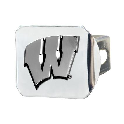 Fanmats Hitch Receiver Cover - University of Wisconsin