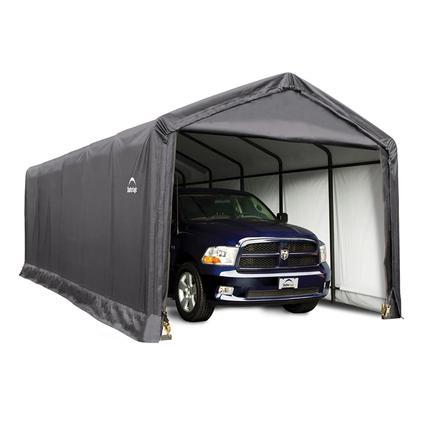 ShelterTUBE Storage Shelter 12 x 30 x 11 Gray Cover
