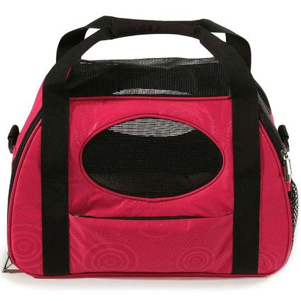 Carry-Me Pet Carrier, Large, Raspberry Sorbet