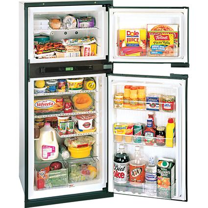 Norcold Refrigerator without Ice Maker 7.5 cu.ft. capacity Right hand door swing, 3 way Power - 120V AC / LP Gas / 12V DC