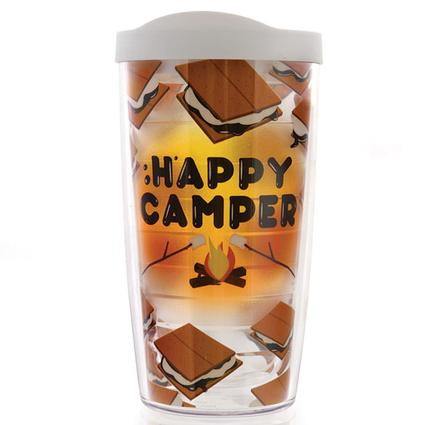 Happy Camper S'mores Tumblers, 16 oz.