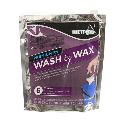 Wash Wax Toss-In, 6-Pack