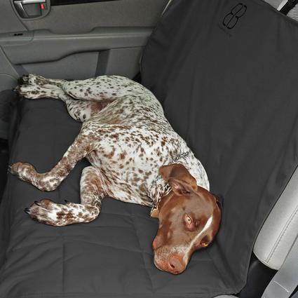 Dog Car Seat Protector, Rear, Anthracite-XL